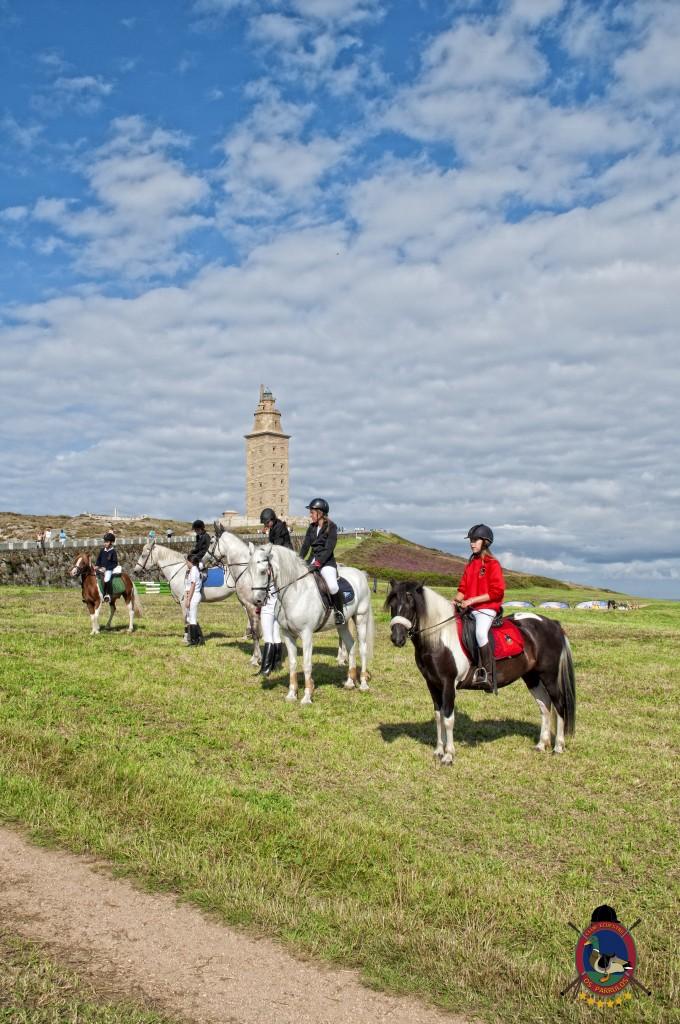 Torre De Hercules_clases de equitación_Os Parrulos_montar a caballo.6