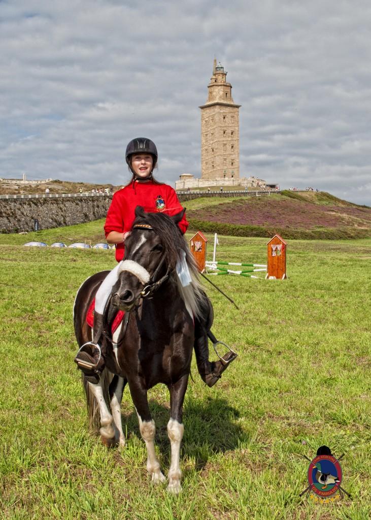 Torre De Hercules_clases de equitación_Os Parrulos_montar a caballo.9
